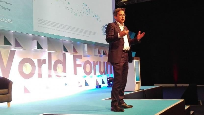 Ray Owen, Chief Technology Officer von NBN Australia am 25. Oktober in Berlin