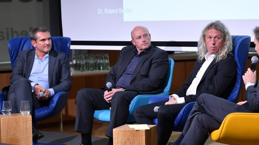 Das Panel zu 5G und Fensehen auf den Medientagen München