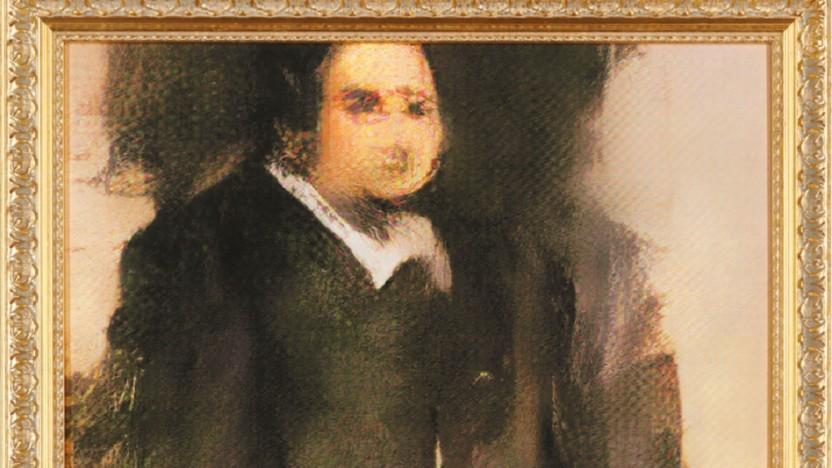 Das KI-Bild erinnert an Ölmalerei.