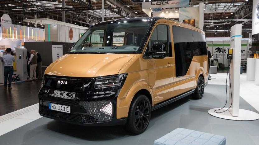 VWs elektrischer Minibus Moia: Wird New Mobility in Israel diese Fahrzeuge einsetzen?