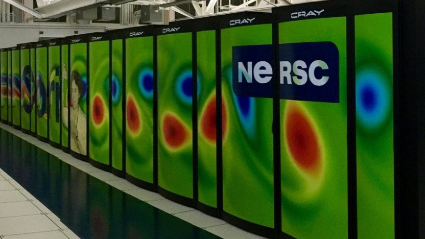 Der aktuelle Cori-Supercomputer des Lawrence Berkeley National Laboratory