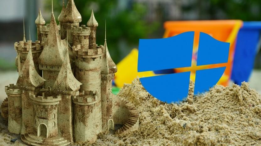 Windows Defender läuft in einer Sandbox.