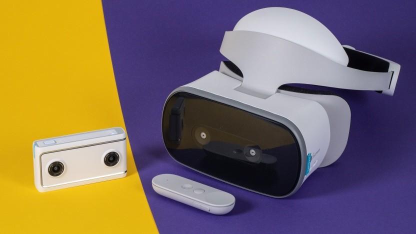 Die Mirage Camera und das Mirage Solo Headset von Lenovo