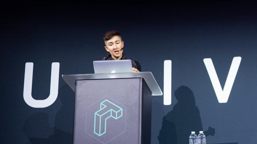 Lin Clark von Mozilla stellte auf der Github Universe Konferenz die Zukunftspläne für Webassembly vor.