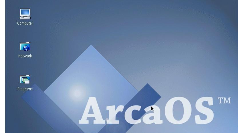 Mit Arca OS gibt es eine modernisierte Version von IBMs OS/2.