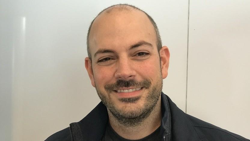 Frank Azor, General Manager von Alienware, beim Gespräch mit Golem.de.