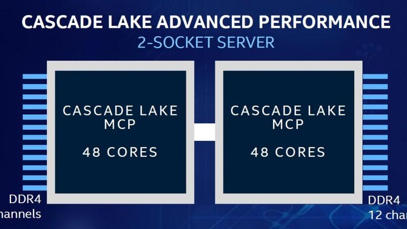 Cascade Lake AP weist 48 Kerne auf