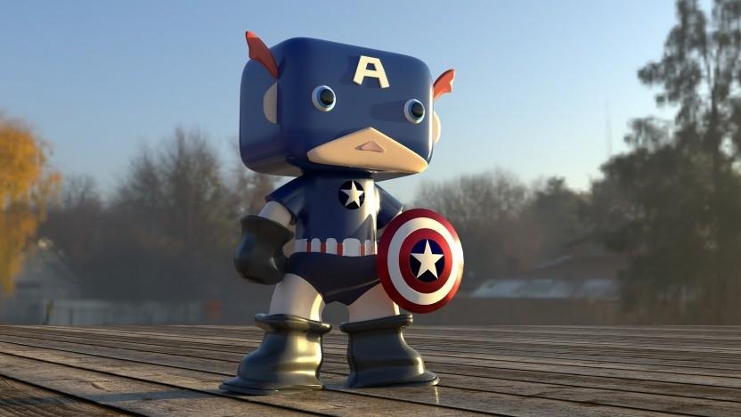 Captain Americas Schild besteht aus Vibranium.
