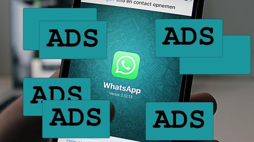 Whatsapp wird Werbung einblenden.