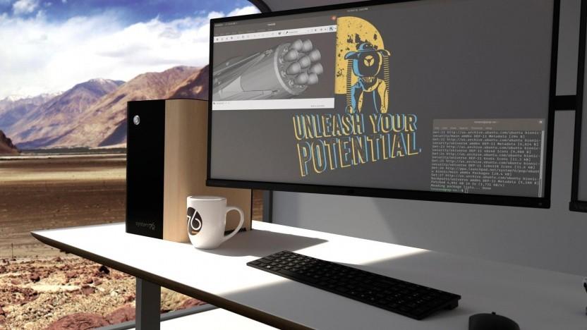 Der Thelio-Desktop-Rechner von System 76