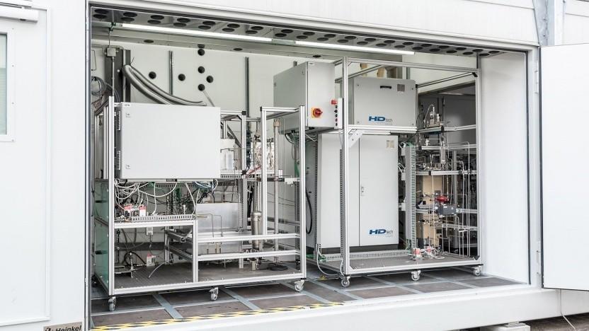 Mobile Anlage zur Erzeugung von Biosprit: Ökotreibstoffe von der Steuer befreien.