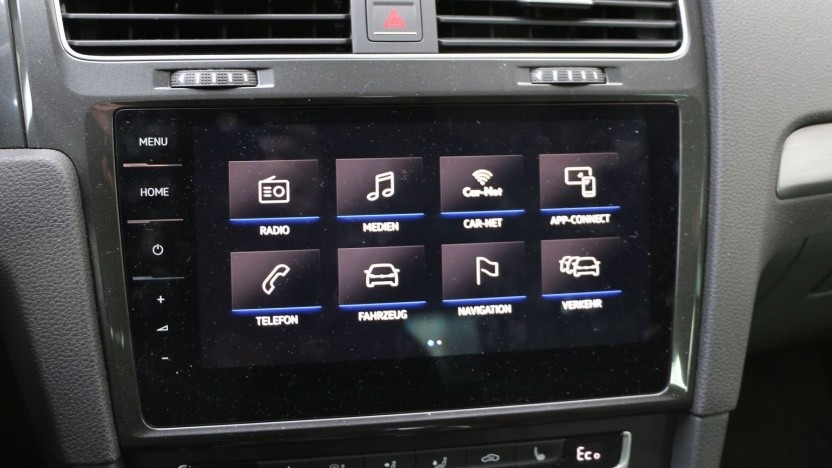 Entertainment-System des E-Golf