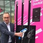 Deutsche Telekom: Die magentafarbenen Ladesäulen kommen