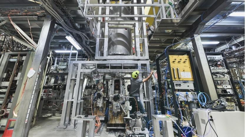 Bau des Experiments Alpha-g am Cern in Genf: Weshalb besteht das Universum nicht aus Antimaterie?
