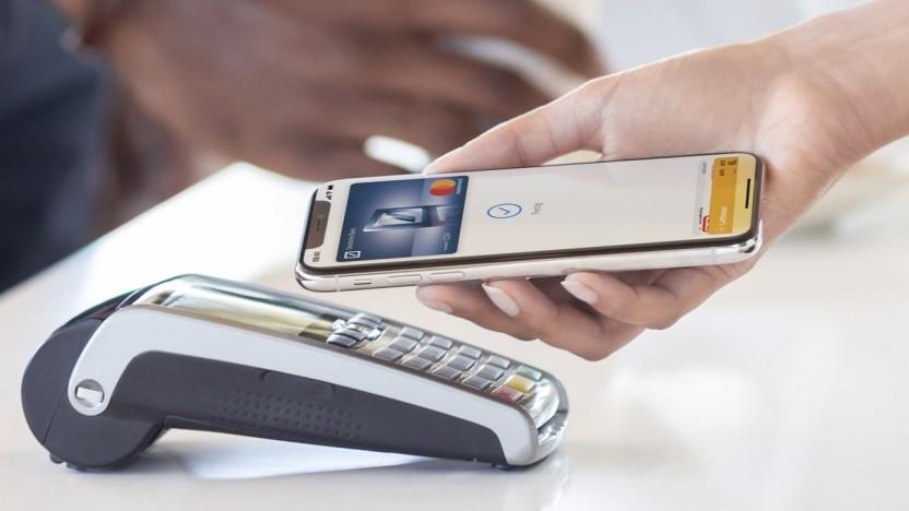 Apple Pay funktioniert kontaktlos.