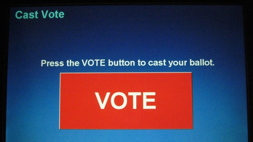 Anders als in Deutschland sind Wahlcomputer in den USA weit verbreitet.
