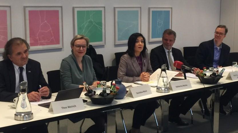 Das Treffen der drei Verbände am 6. November 2018