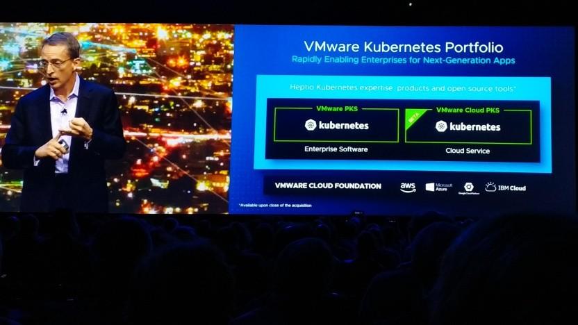 VMware-CEO Pat Belsinger spricht über Kubernetes-as-a-Service.