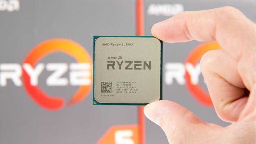 Ein Ryzen 3 1300X von AMD