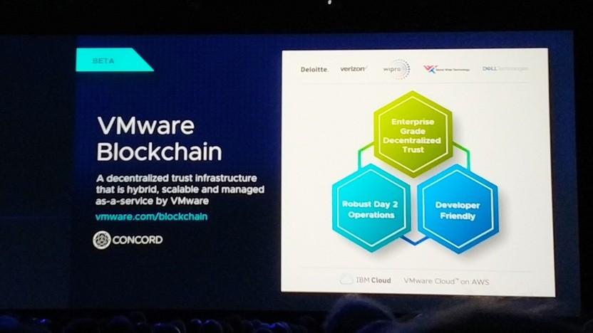 VMware zeigt auf seiner Veranstaltung die Blockchainstrategie.