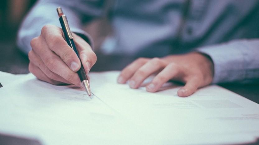 Dokumente digital zu unterschreiben, wird dank Dropbox Extensions etwas einfacher.