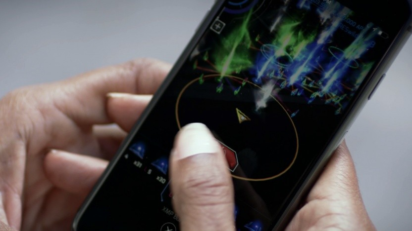 Smartphone mit Ingress Prime