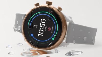 Fossil stellt unter anderem voll digitale Smartwatches wie die Sport her.