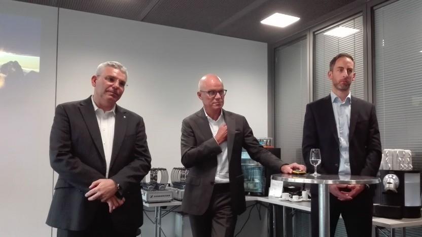 Heinz Herren, Swisscom (mitte)