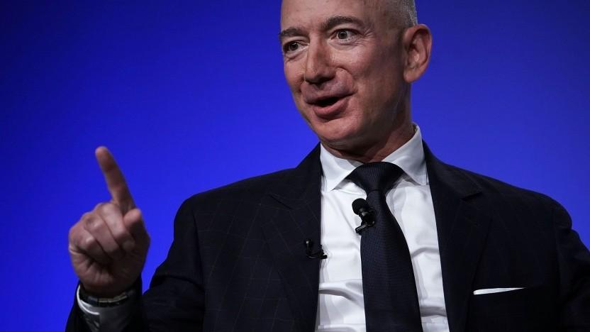 Amazon-Chef Jeff Bezos: Nutzungsbedingungen sollen verantwortungsbewussten Einsatz sicherstellen.