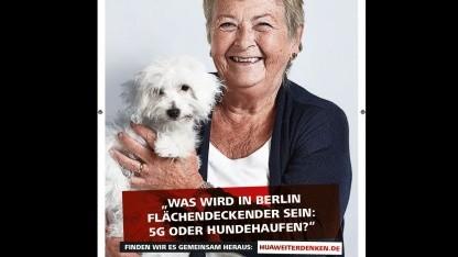 Huawei: Hundehaufen a nivel nacional que 5G en Berlín