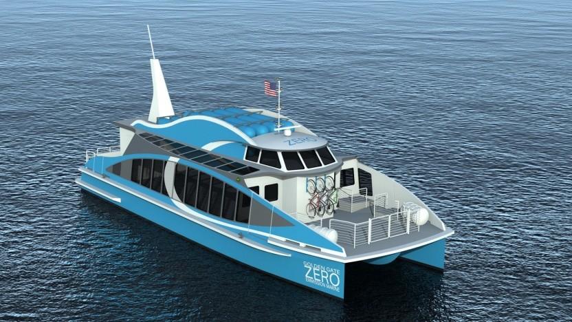 Brennstoffzellenschiff Water-Go-Round: Einsatzdauer von zwei Tagen