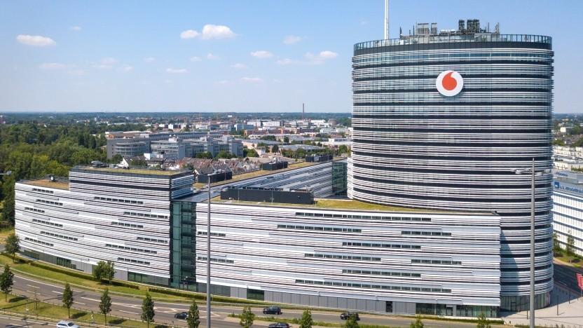 Vodafone-Sitz in Deutschland