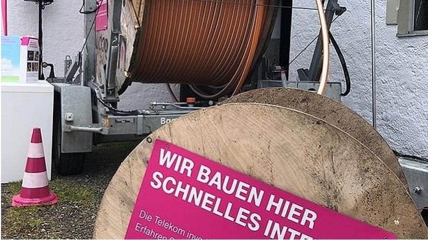 Netzausbau im Gewerbegebiet