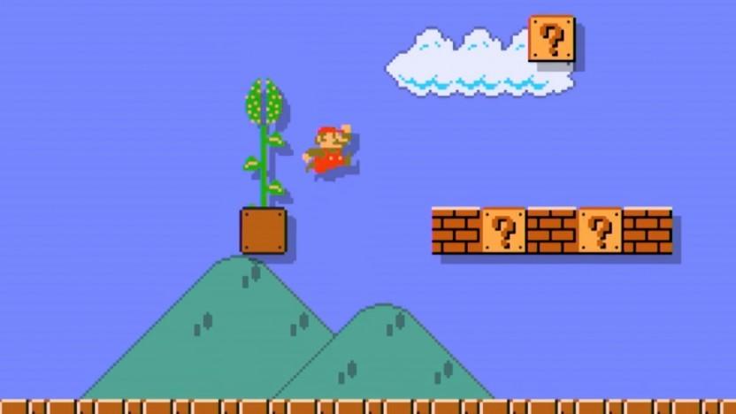 Mit Mario Maker erstelltes Quasi-Retrospiel