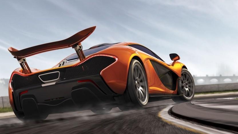 McLaren P1 auf dem Cover von Forza Motorsport 5