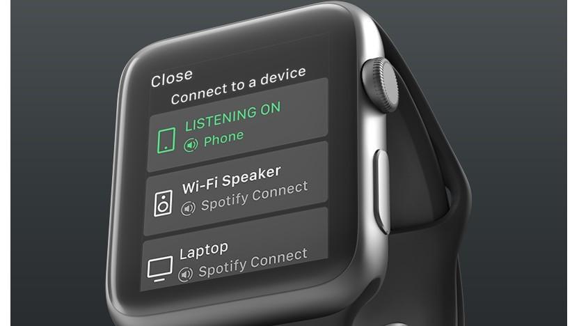Spotify auf der Apple Watch