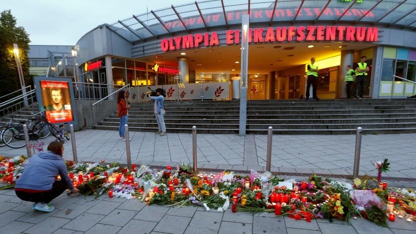 Bei dem Terroranschlag in München kamen neun Menschen ums Leben.