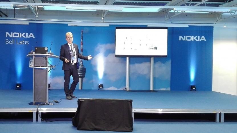 Wolfgang Heer vom Buglas beim Nokia Innovation Day