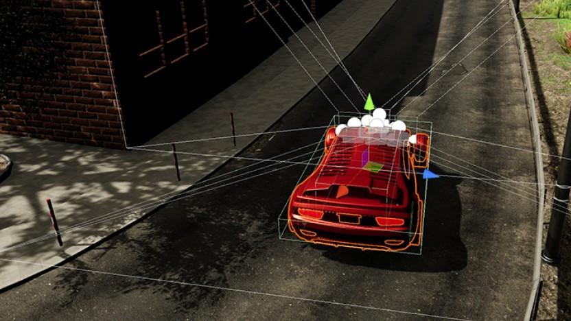 Fahrzeugmodell in Airsim