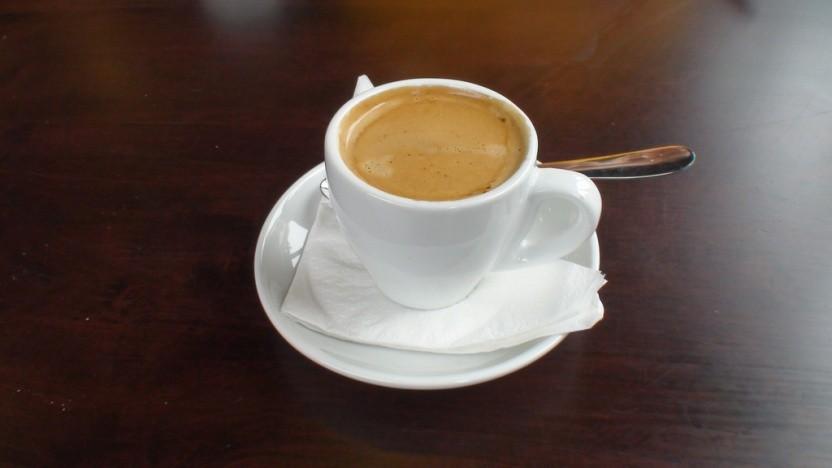 Corretto ist ein Kaffee oder Espresso mit einem Schnaps, meistens Grappa.