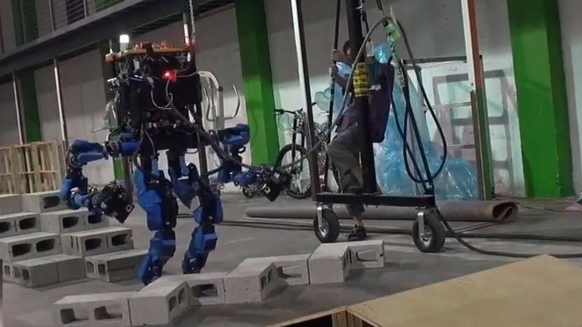 Zweibeiniger Roboter von Schaft: Fokus verändert auf Industrieroboter
