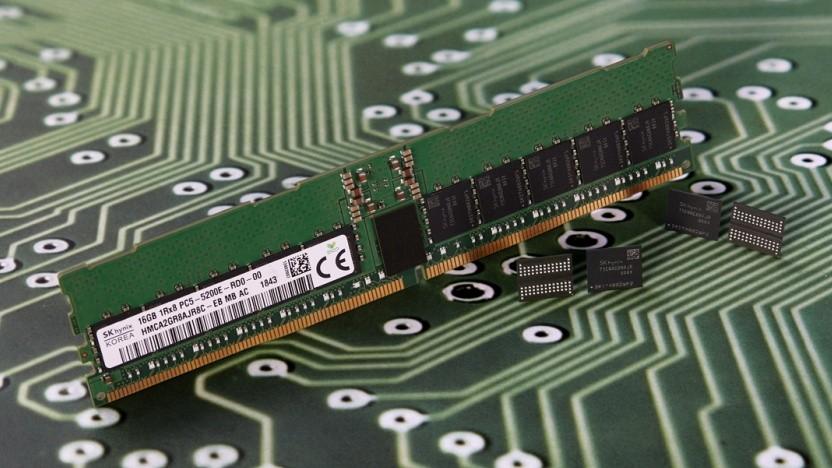 Speichermodul und DDR5-Chips