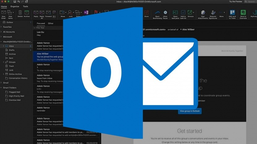 Outlook for Mac bekommt einen Dark Mode