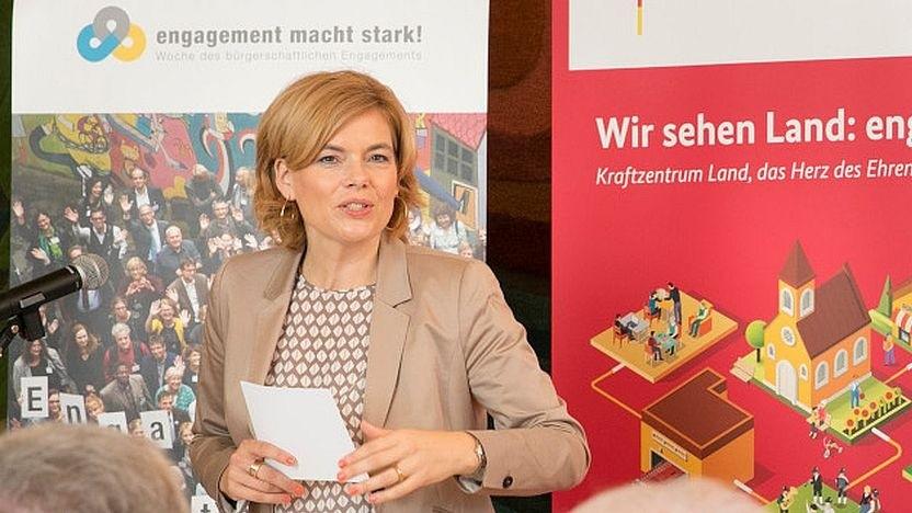 Julia Klöckner, Bundesministerin für Ernährung und Landwirtschaft