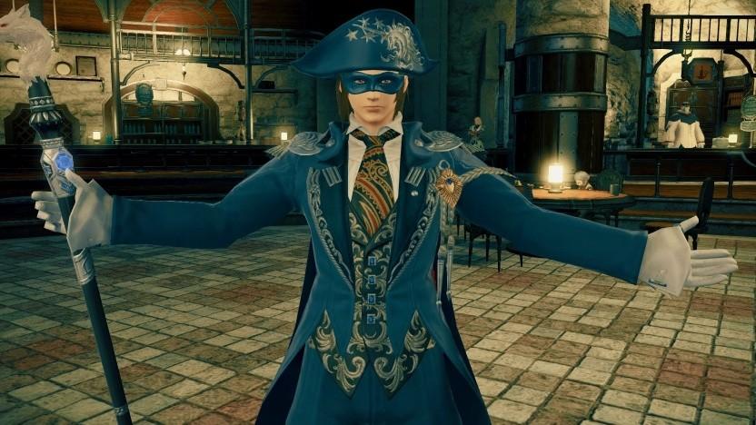 Artwork des Blaumagiers in Final Fantasy 14