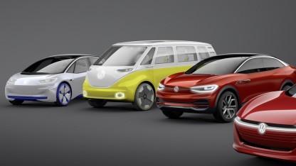 Geplante Elektroautos von Volkswagen