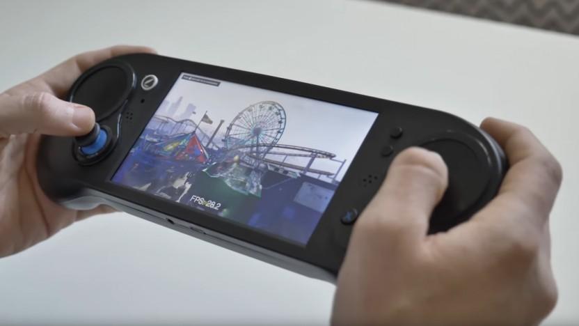 Prototyp des Smach Z mit Benchmark von GTA 5
