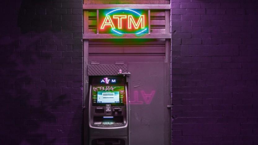 Fast alle Geldautomaten haben Sicherheitsprobleme.