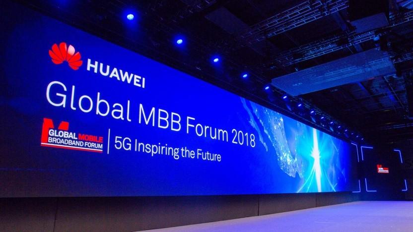 Auf dem MBBF 2018 von Huawei in London