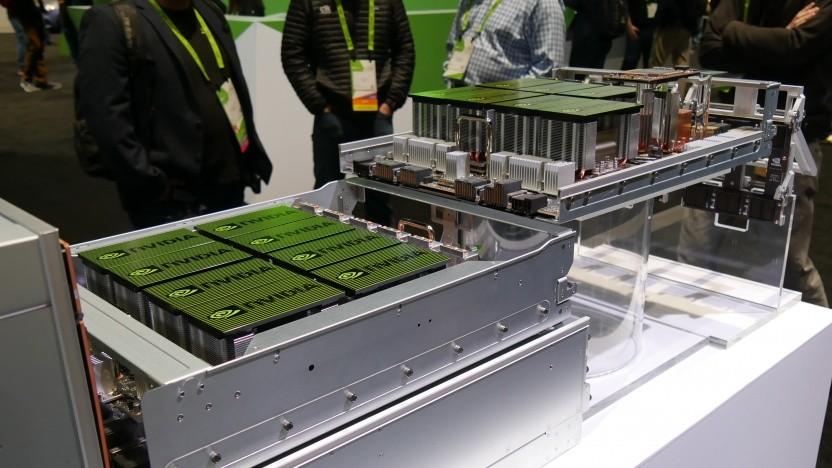 Der bisherige DGX-2 von Nvidia